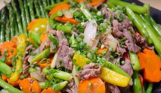 Cách nấu món thịt bò xào ngon ngọt và không hề dai
