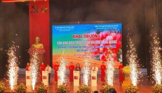 Sàn giao dịch điển tử đầu tiên cho nông sản Việt - vải thiều Bắc Giang